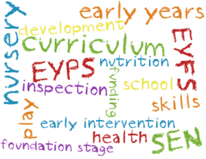 EYFS page